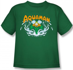 Image for Aquaman Splash Kid's T-Shirt