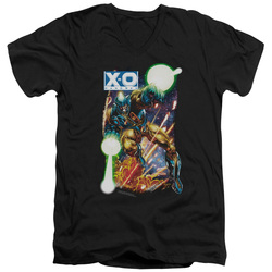 Image for X-O Manowar V Neck T-Shirt - Vintage XO