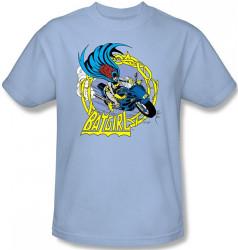 Image Closeup for Batgirl Motorcycle T-Shirt