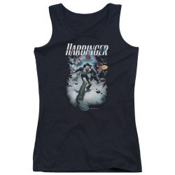 Image for Harbinger Girls Tank Top - Flame Eyes