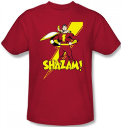 Image Closeup for Captain Marvel Shazam! T-Shirt