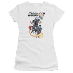 Image for Harbinger Girls T-Shirt - Vertical Team