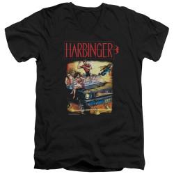 Image for Harbinger V Neck T-Shirt - Vintage