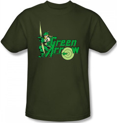 Image Closeup for Green Arrow T-Shirt