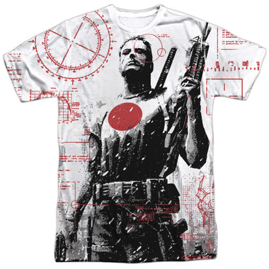 Image for Bloodshot Sublimated T-Shirt - Tactical 100% Polyester