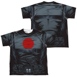 Image Closeup for Bloodshot Sublimated Youth T-Shirt - Costume