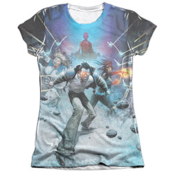 Image detail for Harbinger Girls Sublimated T-Shirt - Eyes