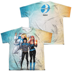 Image Closeup for Harbinger Sublimated Youth T-Shirt - Gals