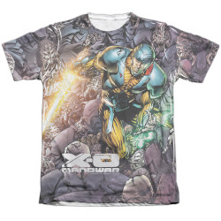 Image detail for X-O Manowar Sublimated T-Shirt - Surrounded