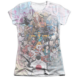 Image detail for Valiant Girls Sublimated T-Shirt - All Acounted For