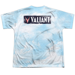 Image Closeup for Valiant Sublimated Youth T-Shirt - Coming At You