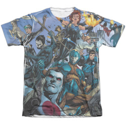 Image detail for Valiant Sublimated T-Shirt - Universe