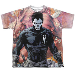 Image for Valiant Sublimated Youth T-Shirt - Shadowman Beast 100% Polyester