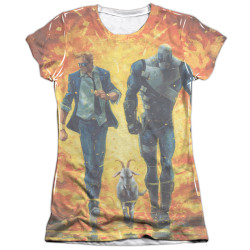 Image detail for Valiant Girls Sublimated T-Shirt - Quantum and Woody Fire It Up