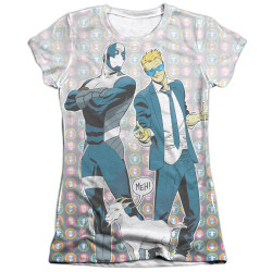 Image detail for Valiant Girls Sublimated T-Shirt - Quantum and Woody Bros