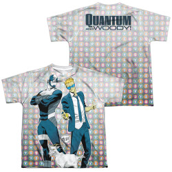 Image Closeup for Valiant Sublimated Youth T-Shirt - Quantum and Woody Bros