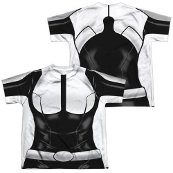 Image Closeup for Valiant Sublimated Youth T-Shirt - Doctor Mirage Uniform