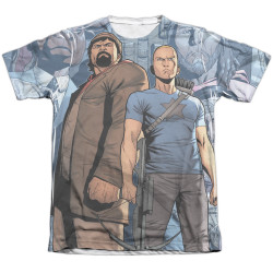 Image detail for Valiant Sublimated T-Shirt - Archer & Armstrong Heroes
