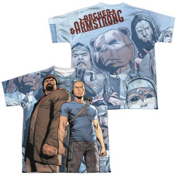Image Closeup for Valiant Sublimated Youth T-Shirt - Archer & Armstrong Heroes