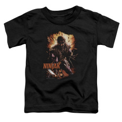 Image for Ninjak Toddler T-Shirt - Fiery