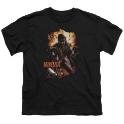 Image for Ninjak Youth T-Shirt - Fiery