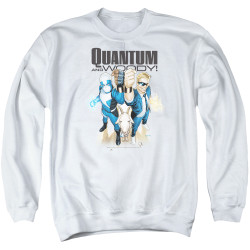 Image for Quantum and Woody Crewneck - Fists Up!