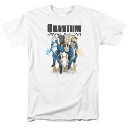 Image for Quantum and Woody T-Shirt - Fists Up!