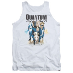 Image for Quantum and Woody Tank Top - Fists Up!