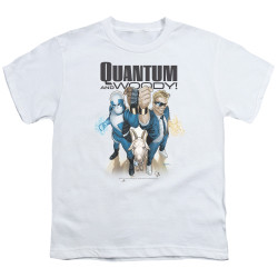 Image for Quantum and Woody Youth T-Shirt - Fists Up!