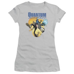 Image for Quantum and Woody Girls T-Shirt - Three's a Crowd