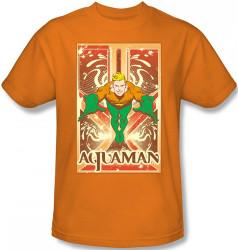 Image Closeup for Aquaman Diving T-Shirt