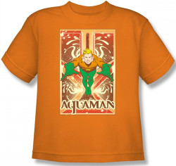 Image for Aquaman Diving T-Shirt DCO117-YT