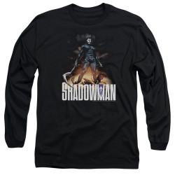 Image for Shadowman Long Sleeve Shirt - Victory