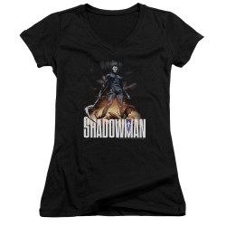 Image for Shadowman Girls V Neck - Victory
