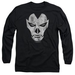Image for Shadowman Long Sleeve Shirt - Face