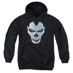 Image for Shadowman Youth Hoodie - Comic Face