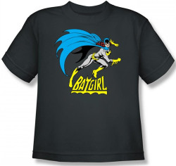 Image for Batgirl is Hot Youth T-Shirt