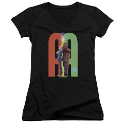 Image for Archer & Armstrong Girls V Neck - Back to Back