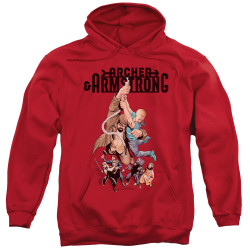 Image for Archer & Armstrong Hoodie - Hang in There