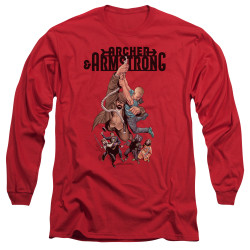 Image for Archer & Armstrong Long Sleeve Shirt - Hang in There