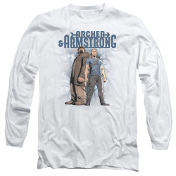 Image for Archer & Armstrong Long Sleeve Shirt - Two Against All