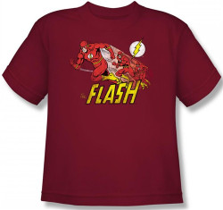 Image for Flash Crimson Comet Youth T-Shirt
