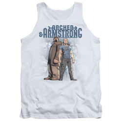 Image for Archer & Armstrong Tank Top - Two Against All