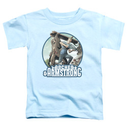 Image for Archer & Armstrong Toddler T-Shirt - Trunk and Crossbow