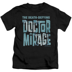 Image for Doctor Mirage Kids T-Shirt - Character Logo