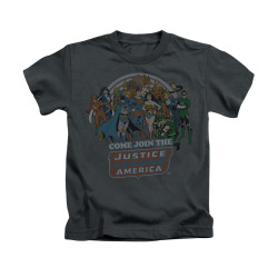 Image for Justice League of America Join the League Kid's T-Shirt