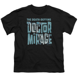 Image for Doctor Mirage Youth T-Shirt - Character Logo