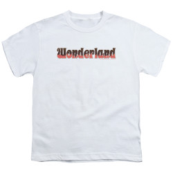 Image for Zenescope Youth T-Shirt - Wonderland Logo