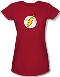 Image for Flash Distressed Logo Girls Shirt