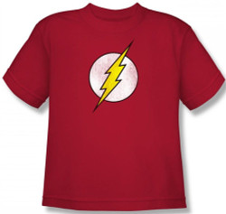 Image for Flash Distressed Logo Youth T-Shirt